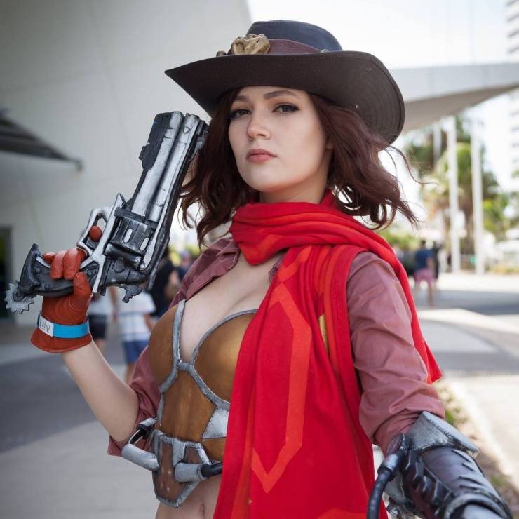 Overwatch: McCree Cosplay by Holly Lauryn
