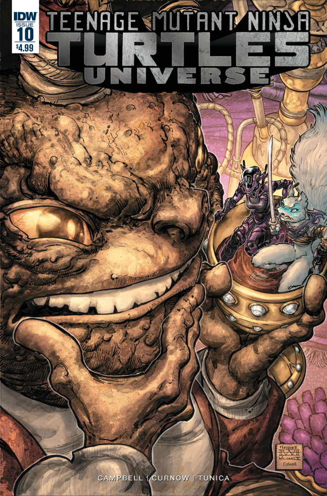 Teenage Mutant Ninja Turtles Universe #10 Review