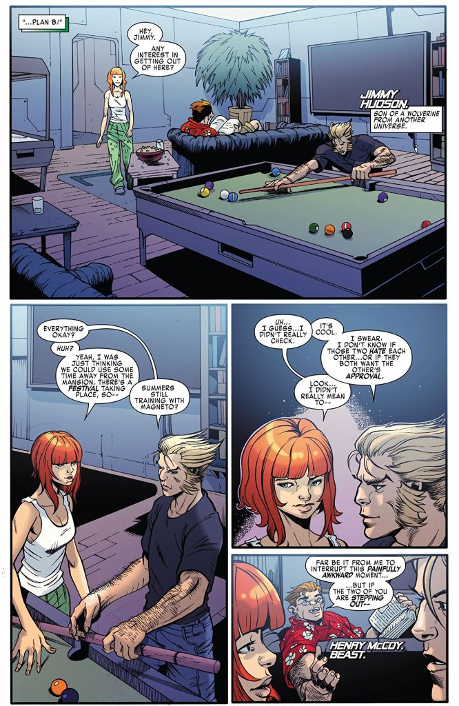 X-Men: Blue #6 Review