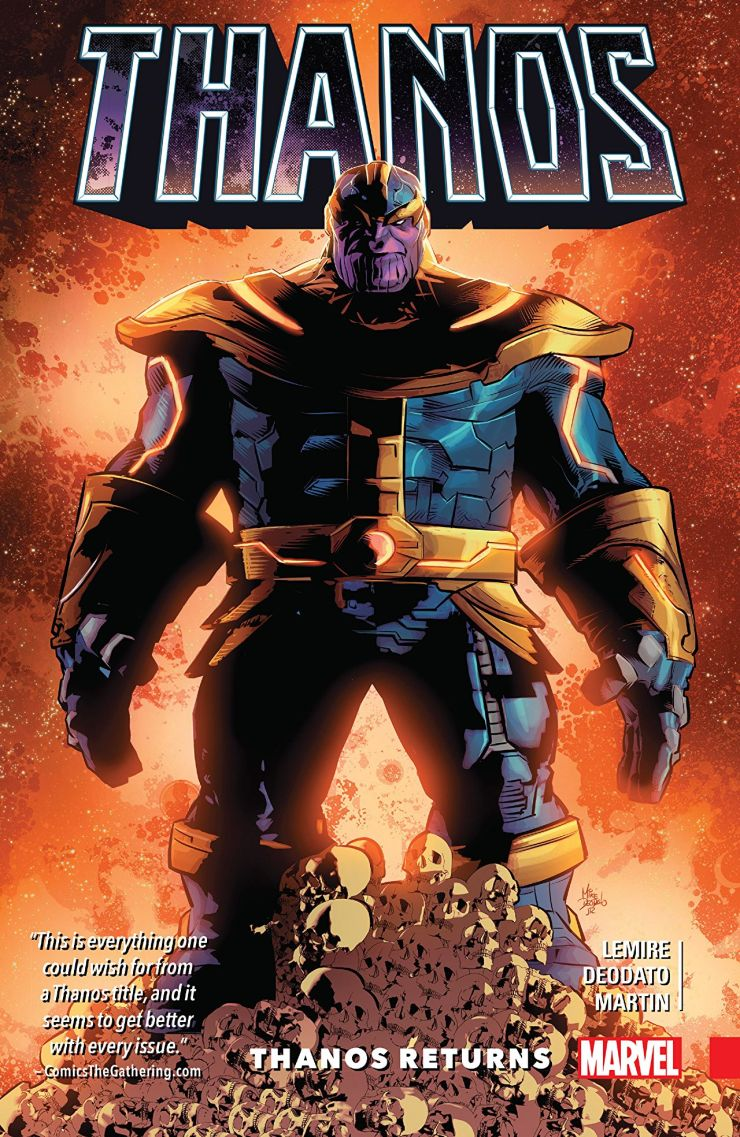 'Thanos Vol. 1: 'Thanos Returns' is a gripping dive into Marvel's galaxy