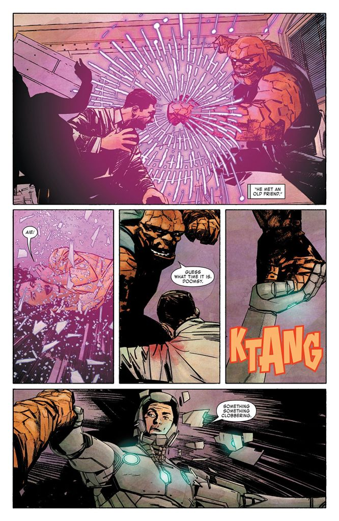 'Infamous Iron Man' Vol. 1 flips the script in spectacular ways