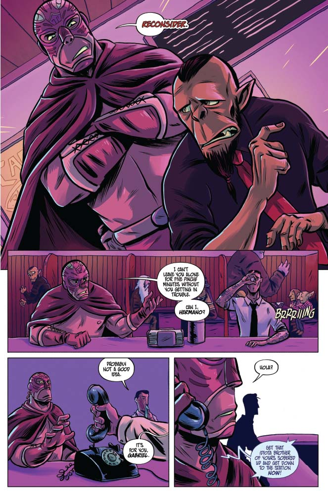 Blood Brothers #1 Review