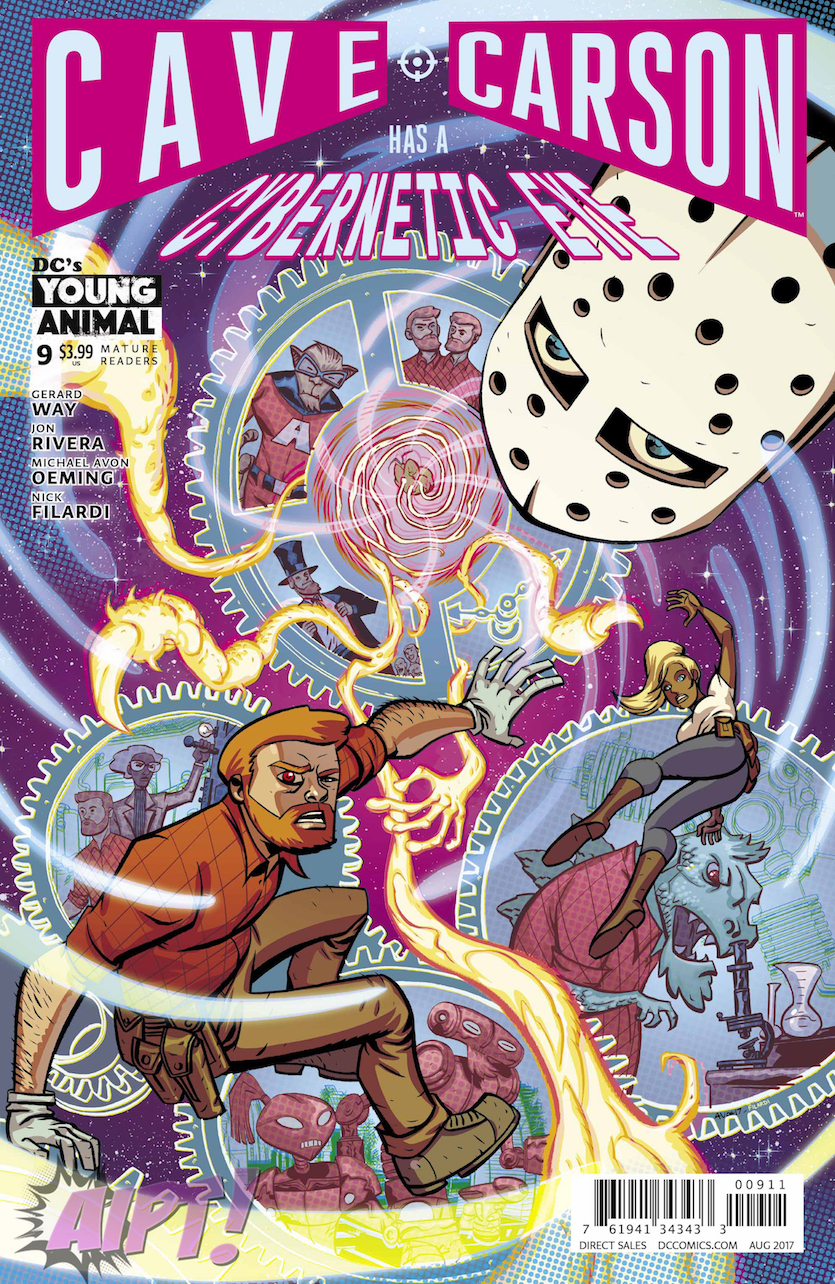 Cave Carson Has a Cybernetic Eye #9 Review