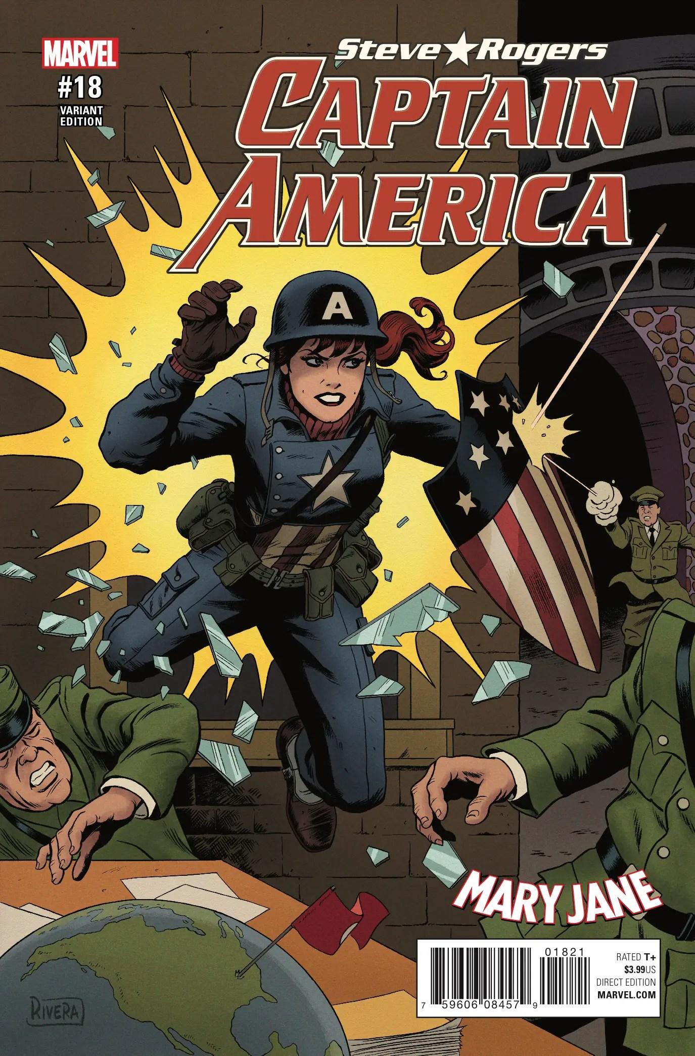 Captain America: Steve Rogers #18 Review