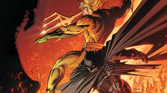 DARKNESS COMES TO THE DC UNIVERSE WITH THE MYSTERY OF THE FORGE! Aquaman, The Flash and more of DC's pantheon of heroes suspect Batman of hiding a dark secret that could threaten the very existence of the multiverse! It's an epic that will span generations—but how does it connect to the origins of one of DC's most legendary heroes?