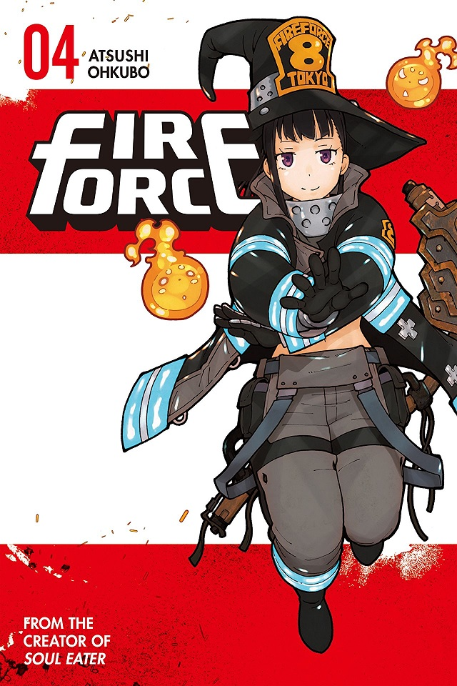 Fire Force Vol. 4 Review