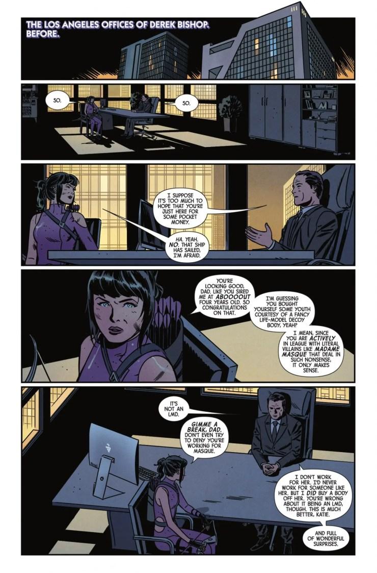 Marvel Preview: Hawkeye #8