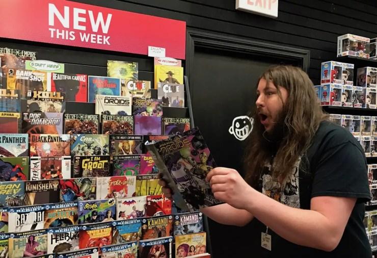 Retailer Reactions: Newbury Comics, North Dartmouth, MA