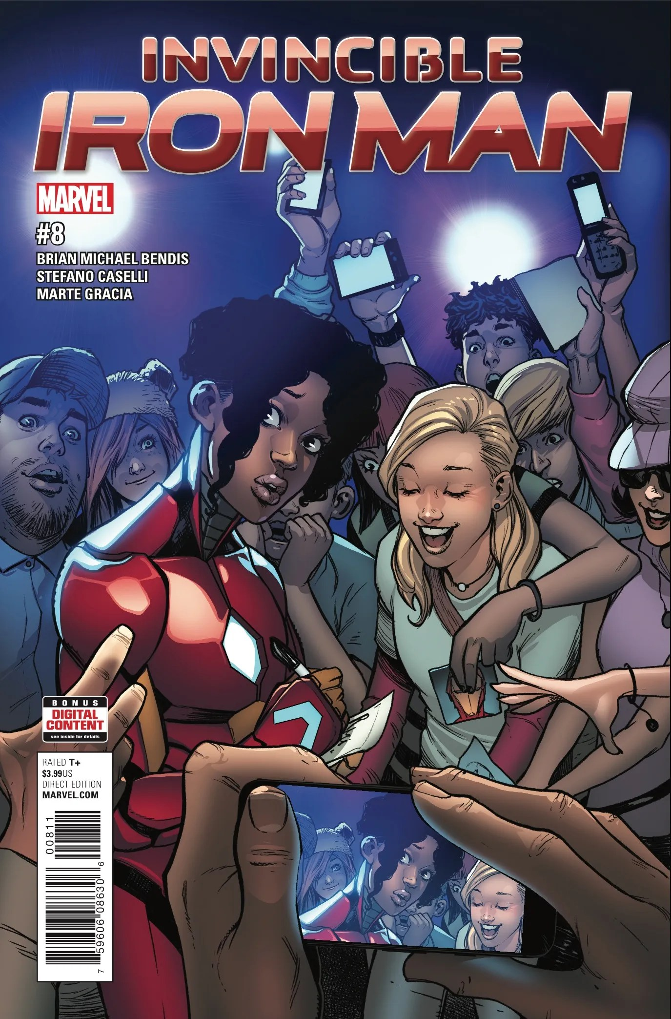 Invincible Iron Man #8 Review