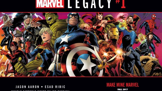 Press Release: Make Mine Marvel With MARVEL LEGACY