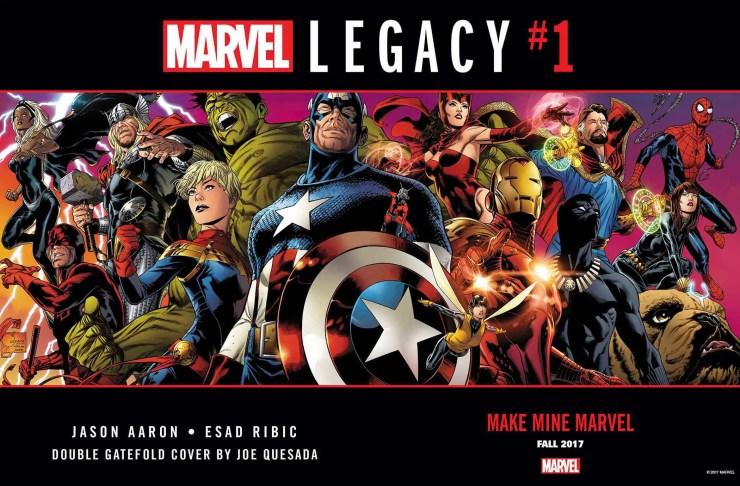 'Marvel Legacy' #1 hits shelves in September
