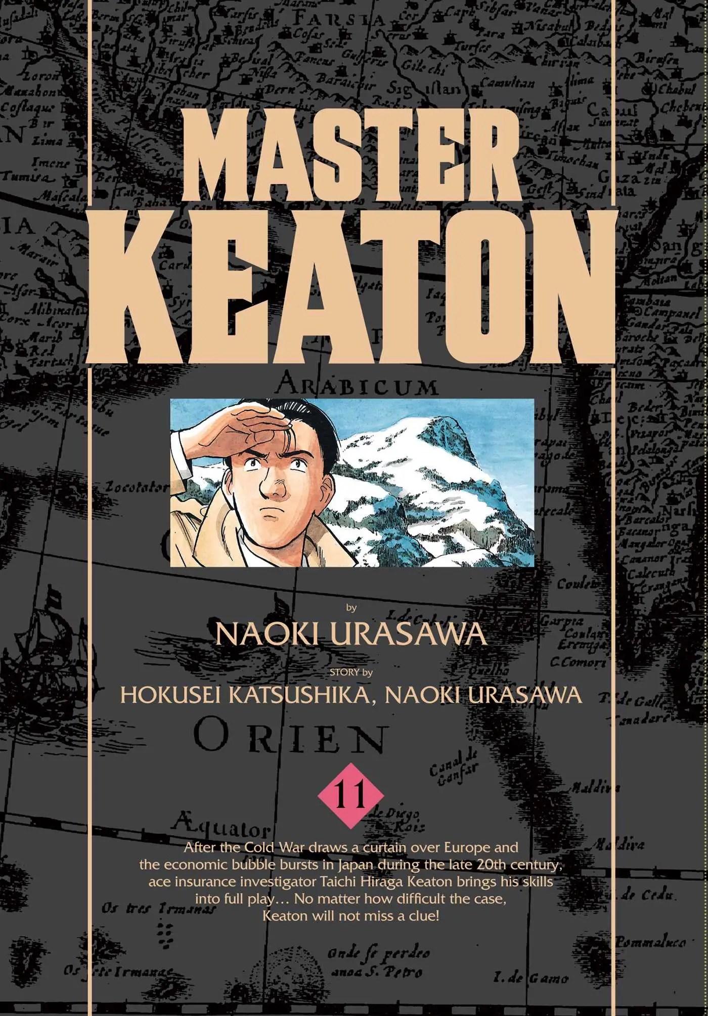 Master Keaton Vol. 11 Review