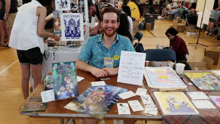 Creating My First Comic Book - Part 4: I Went to Comic Book Conventions!