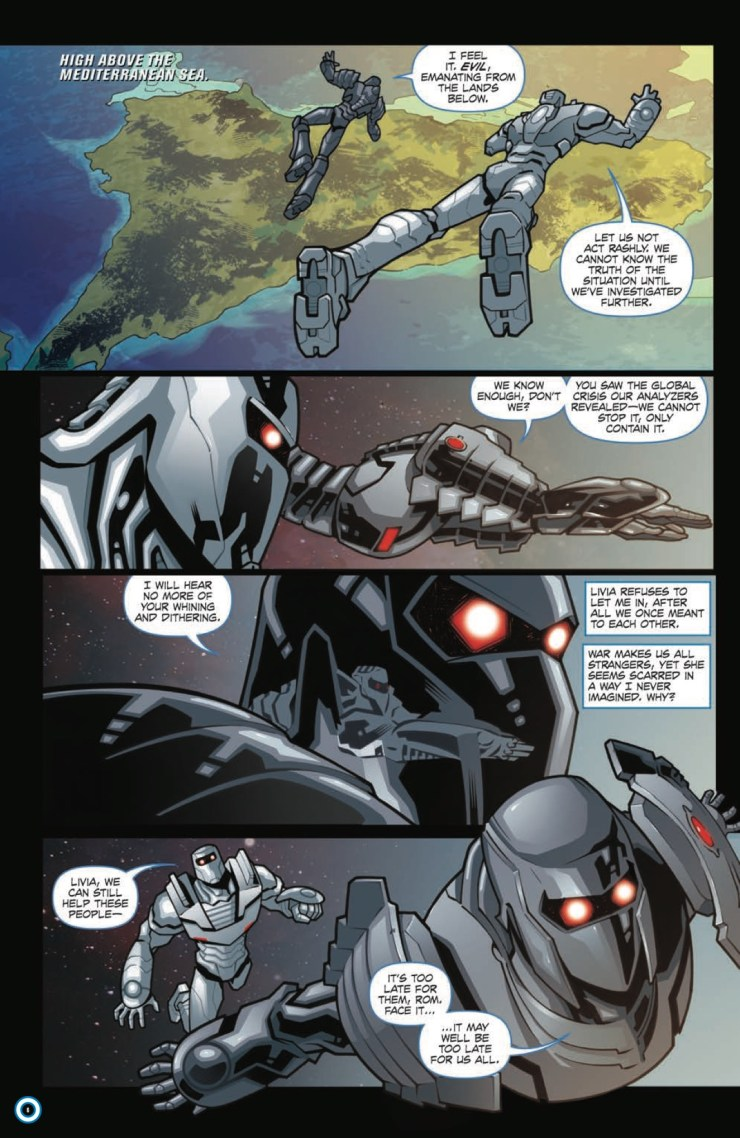 [EXCLUSIVE] IDW Preview: Rom #11