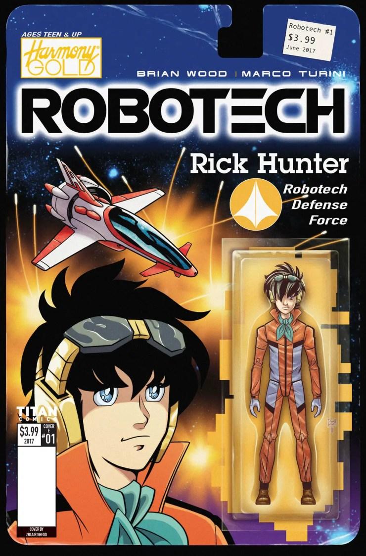 Titan Preview: Robotech #1