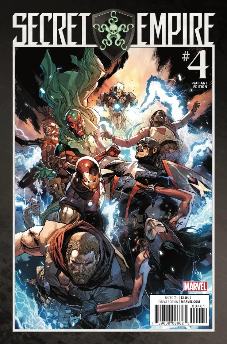 Marvel Preview: Secret Empire #4
