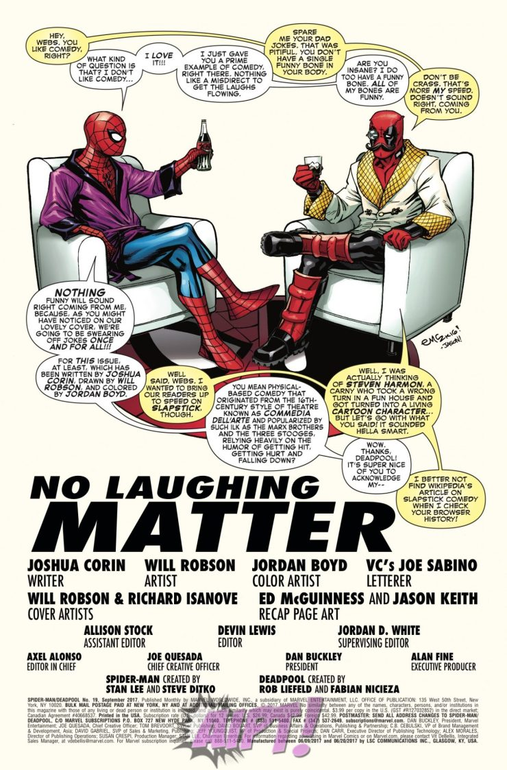 [EXCLUSIVE] Marvel Preview: Spider-Man/Deadpool #19