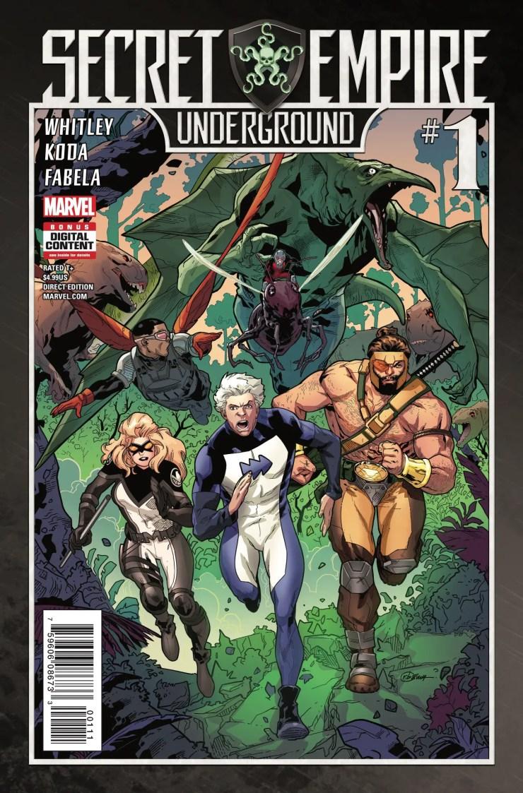 Marvel Preview: Secret Empire: Underground #1