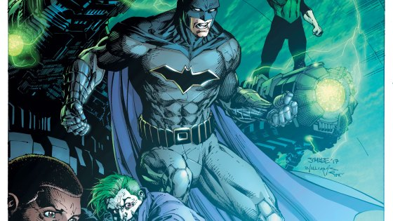 Batman nabs another few top spots as the overall market for comic books shrinks.