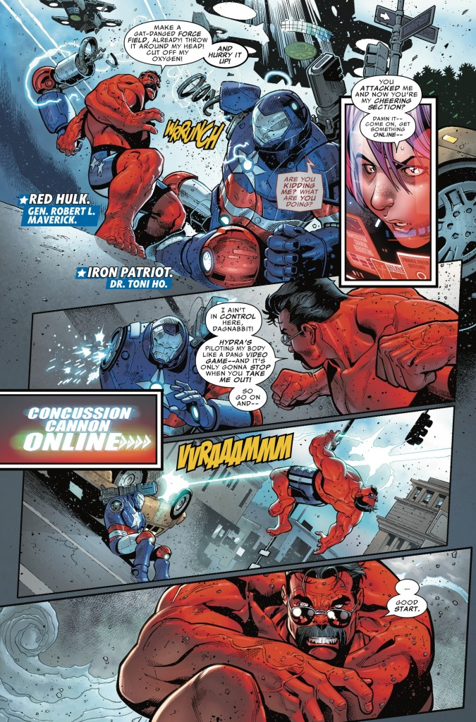 U.S. Avengers #7 Review