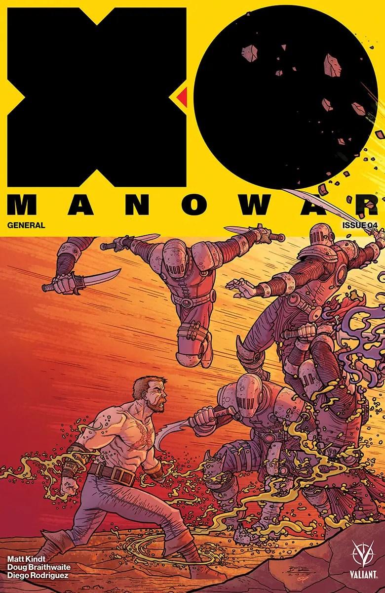 X-O Manowar #4 Review