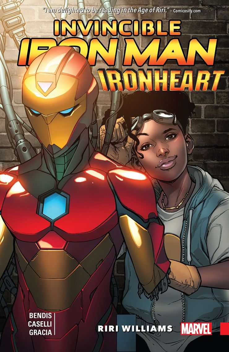 'Invincible Iron Man: Ironheart Vol. 1: Riri Williams' is a great entry point into Riri's Ironhearted adventures