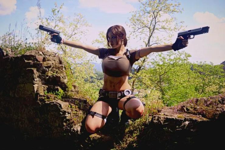 Tomb Raider: Legend: Lara Croft Cosplay by Eilaire