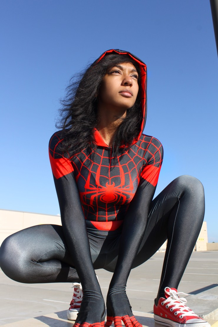 Spider-Gwen/Miles Morales Mash-Up Cosplay by Alexis Victorious