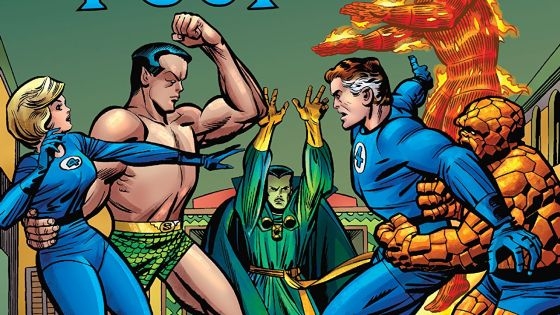 'Fantastic Four Epic Collection: The Master Plan of Doctor Doom' is the only Fantastic Four collection you need.