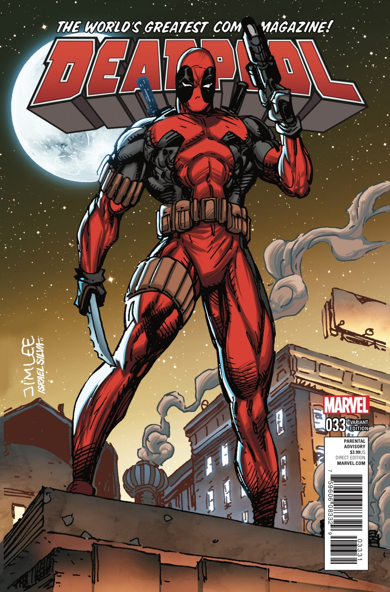 Deadpool #33 Review