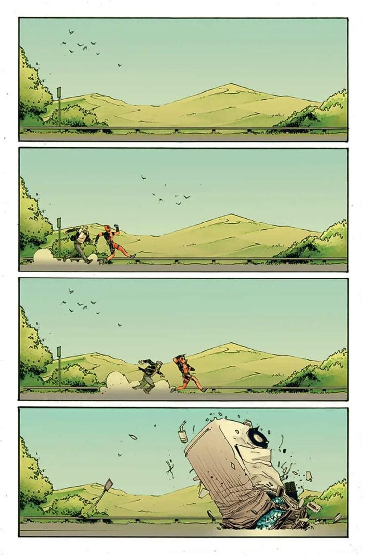 Marvel Preview: Deadpool vs. Old Man Logan #1