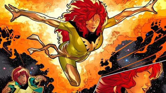 A teenage girl meeting her future self in this Marvel preview.