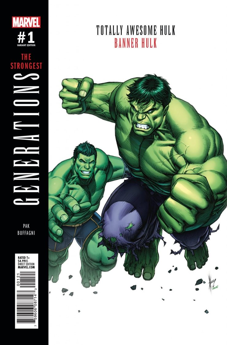 Marvel Preview: Generations: Banner Hulk & Totally Awesome Hulk #1