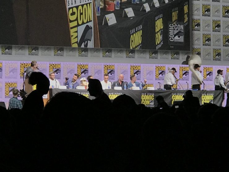 SDCC 2017: Seth Rogen and the Preacher cast talk AMC's hit show in Hall H