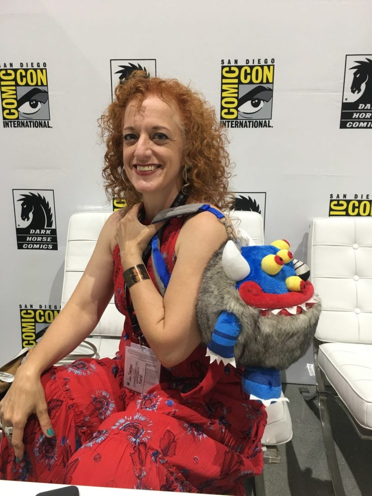 SDCC 2017: In the Dark Horse Lounge with Jill Thompson