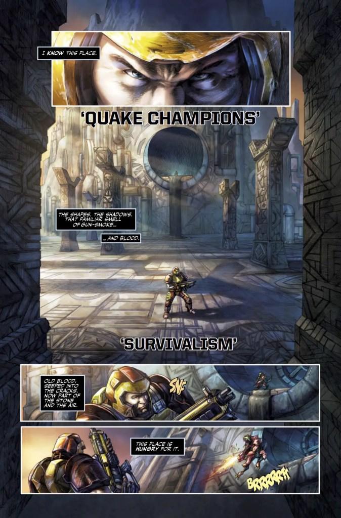 Titan Preview: Quake Champions #1