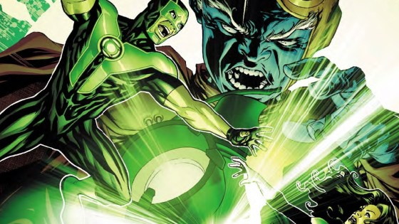 Peer into the DC universe 10 billion years ago and find out how the Green Lantern rings were created.