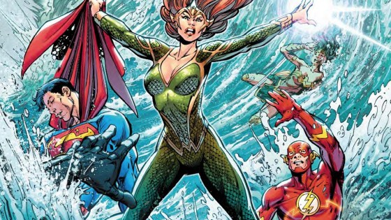 Mera fans better get their wallets out as the character takes center stage in the latest issue of Justice League.