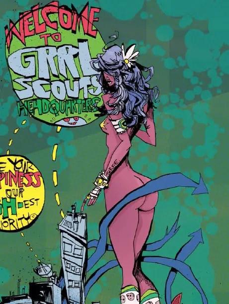 Grrl Scouts: Magic Socks #3 Review