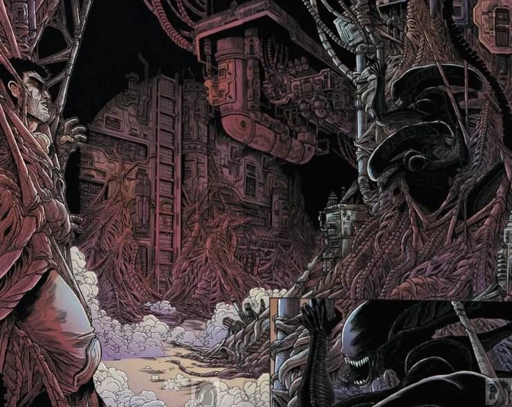 Aliens: Dead Orbit #3 Review