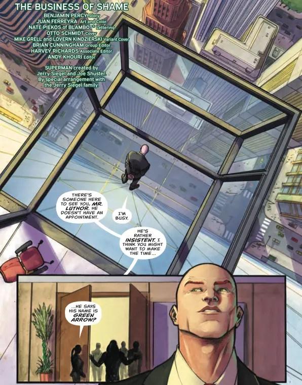 Green Arrow #28 Review