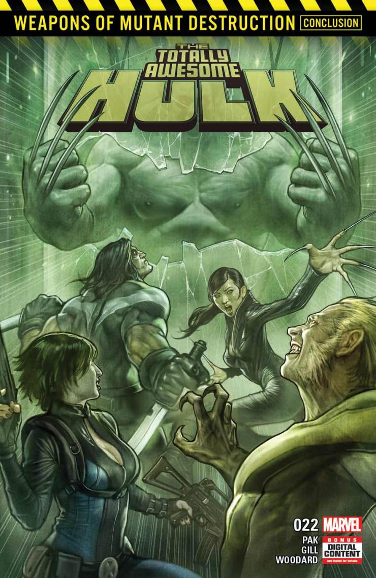 Marvel Preview: Totally Awesome Hulk #22