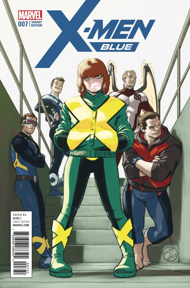 Marvel Preview: X-Men: Blue #7