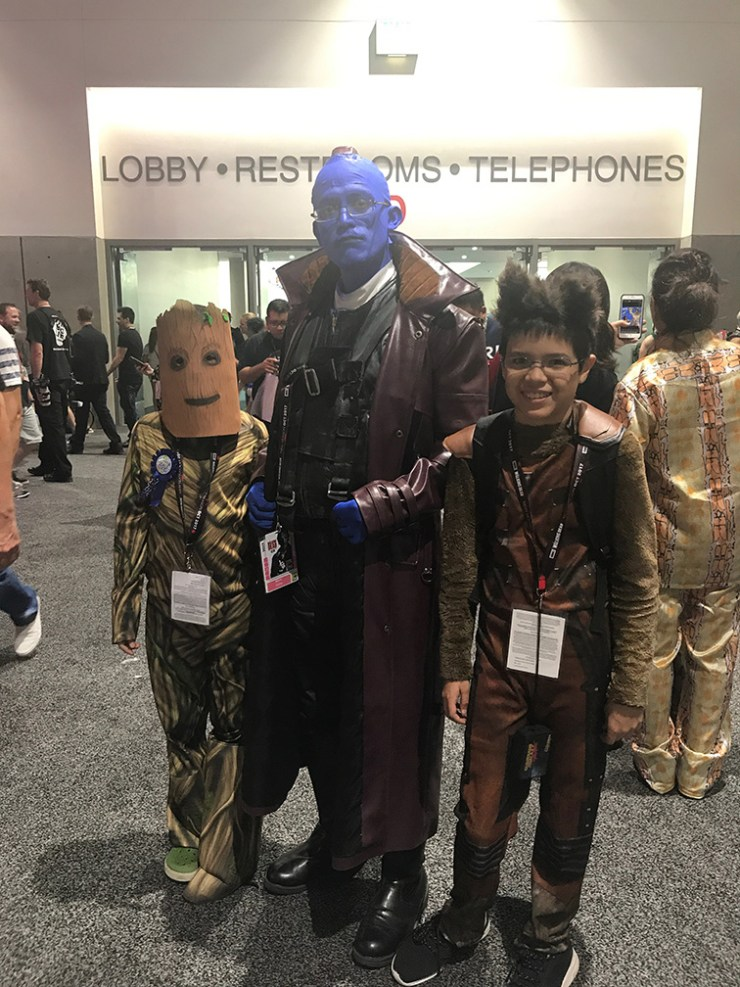SDCC 2017: Who wore it best? Yondu cosplay