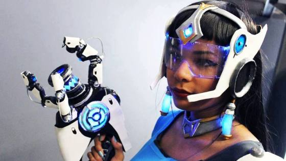 Overwatch: Symmetra Cosplay by Aaryae