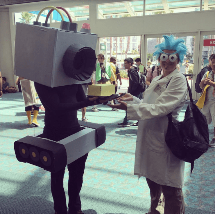 SDCC 2017: Who wore it best? Rick and Morty cosplay