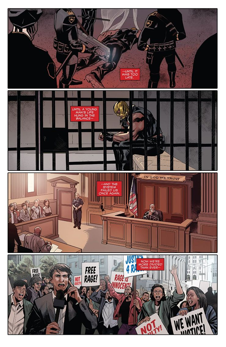 Reflection and growth: 'Captain America: Sam Wilson Vol. 5: End of the Line' review