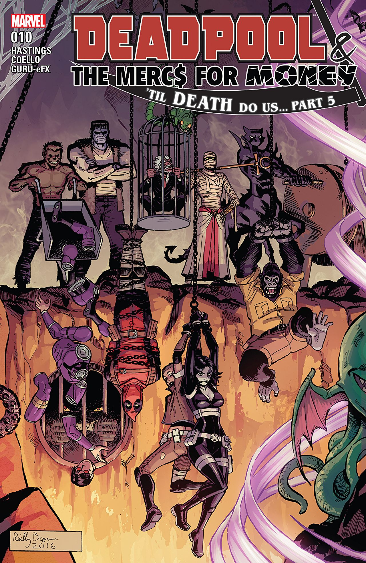 'Deadpool: World's Greatest Vol. 8: Till Death Do Us...' review: Madcap monster fun worthy of your chuckles