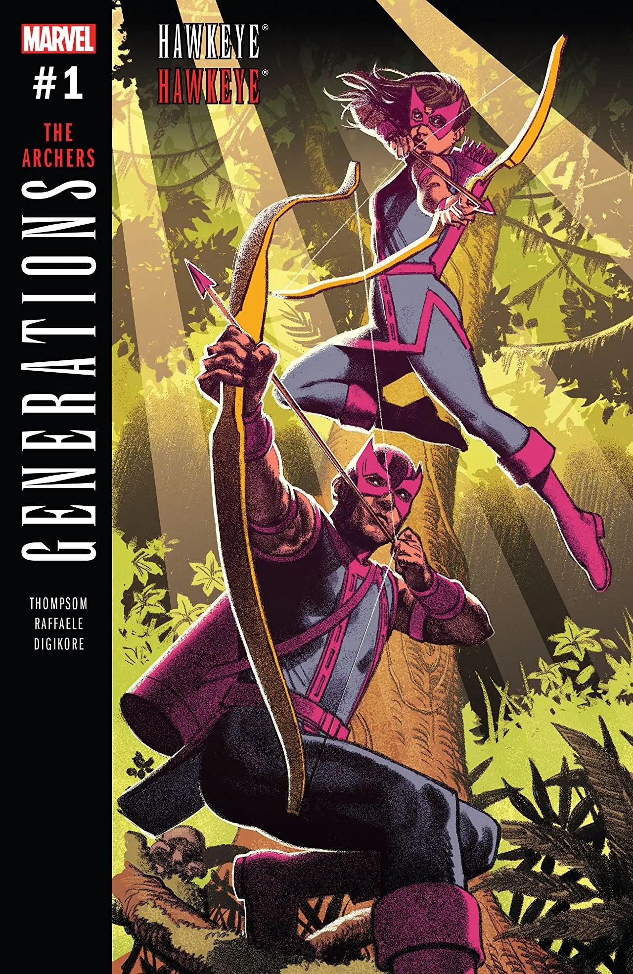 Generations: Hawkeye & Hawkeye #1 Review