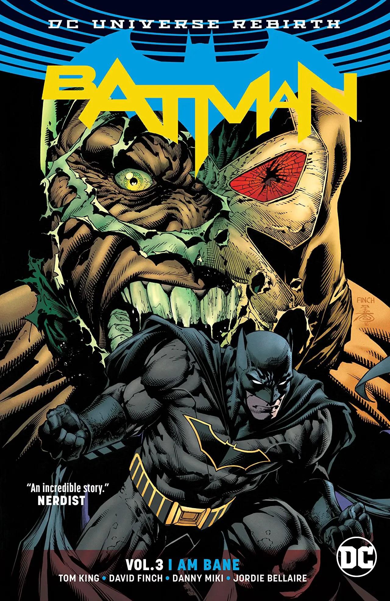 'Batman Vol. 3: I Am Bane' review: A terrific climax for the first year of Tom King's Batman run